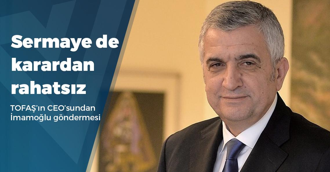 """TOFAŞ CEO'su Cengiz Eroldu: """"Her şey çok güzel olacak"""""""