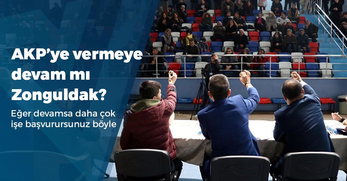 Zonguldak'ta 1 kişilik işe 6 bin 198 kişi başvuru