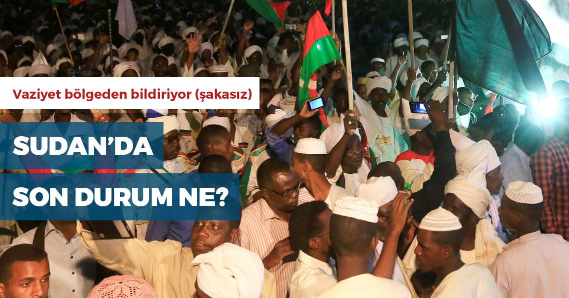 Sudan'da neler oluyor?