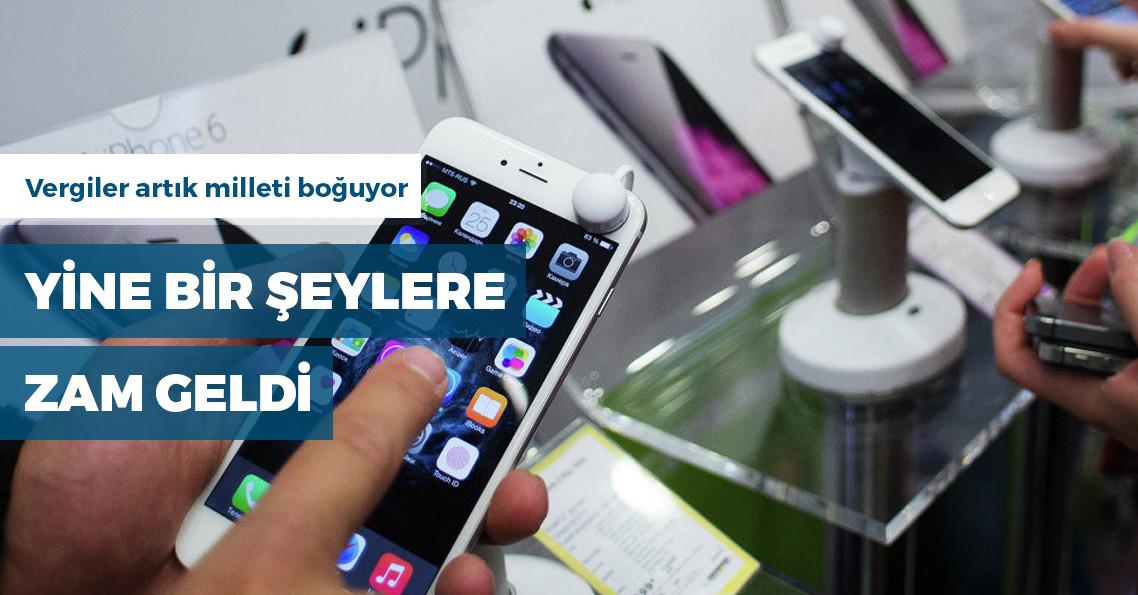 Sigarada asgari maktu vergisi artırıldı, cep telefonlarında ÖTV'ye zam geldi