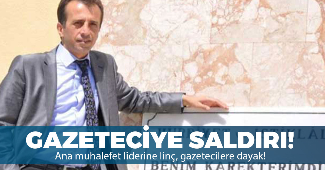 Antalya'da gazeteci Ergin Çevik'e saldırı