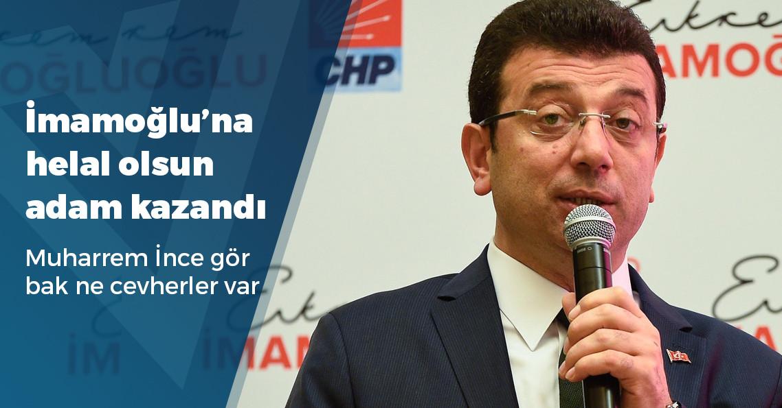 """Ekrem İmamoğlu: """"İBB Başkanı karşınızda duruyor, ben artık Anadolu Ajansı'nı umursamıyorum"""""""