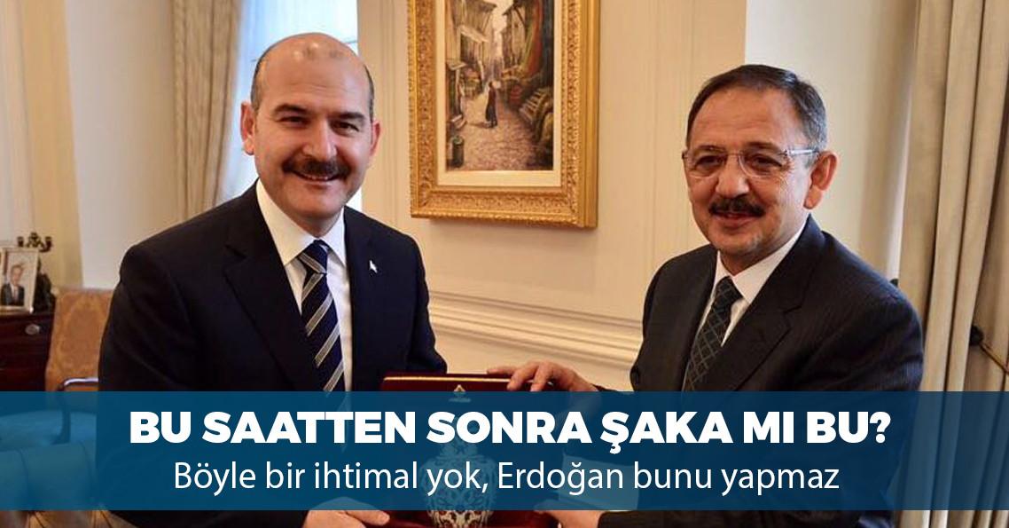"""""""Özhaseki'nin yerine Süleyman Soylu aday gösterilecek"""" iddiası"""