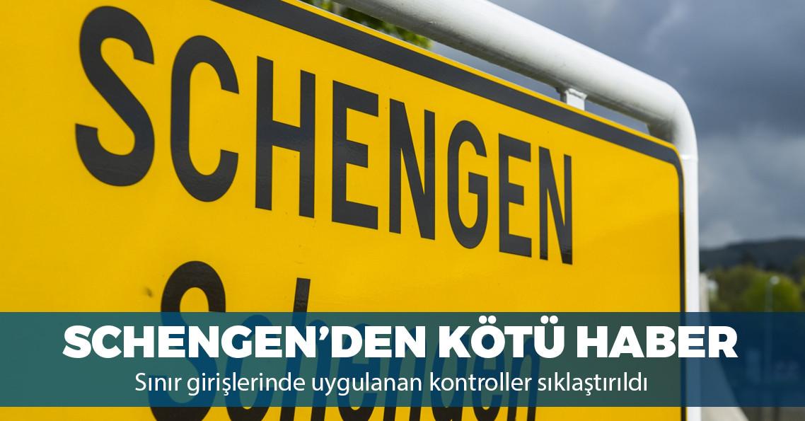 Türk vatandaşlarına yeni Schengen zorlukları