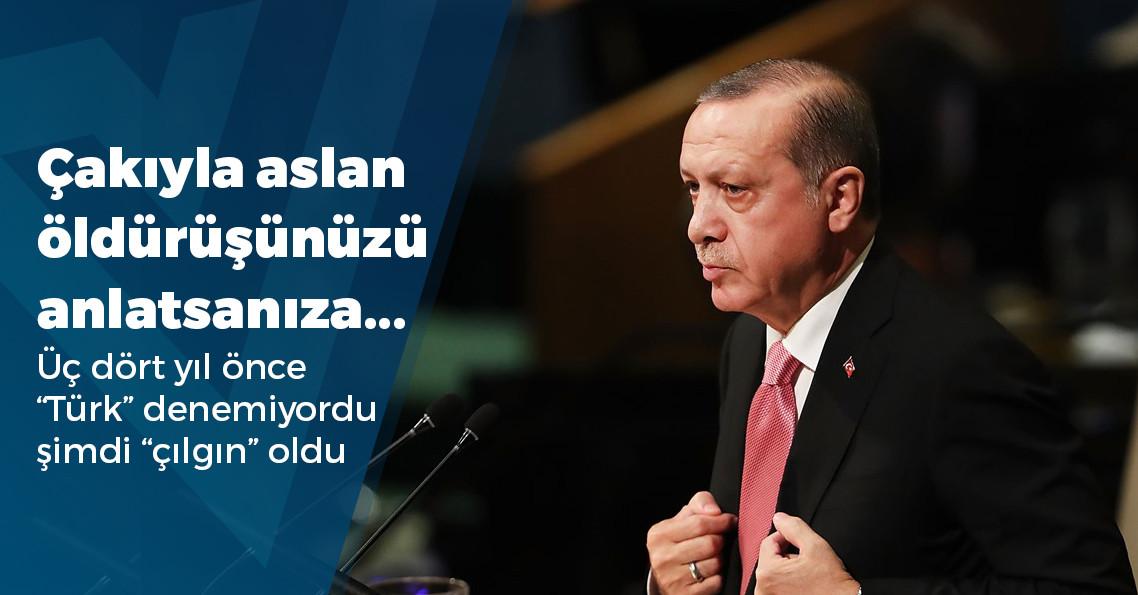 """Erdoğan: """"Baktılar ki çılgın Türkler geliyor IMF o borcu almadı"""""""