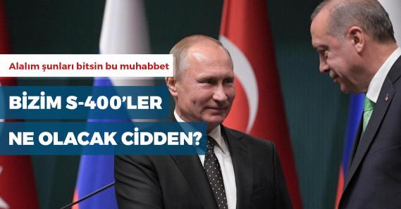 """Erdoğan: """"Ruslar'la anlaştık, ortak üretime gireceğiz, belki S-400'den sonra S-500'e gireceğiz"""""""