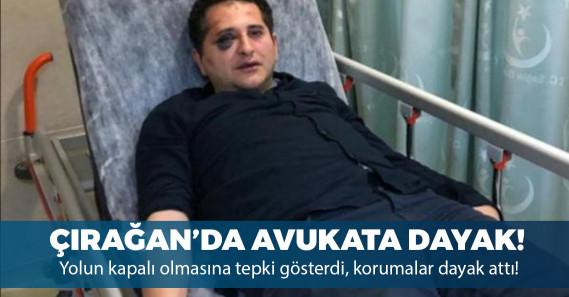 Erdoğan'ın korumalarından avukata dayak!