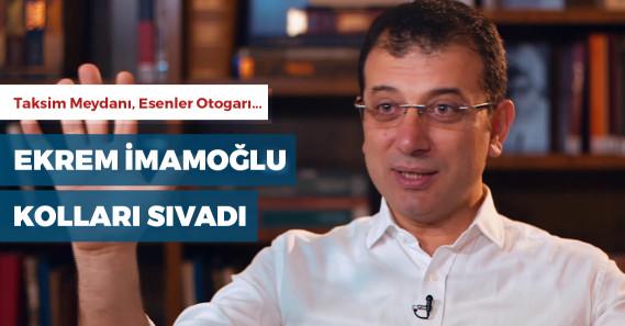Ekrem İmamoğlu, İstanbul için çözüm planlarını açıkladı