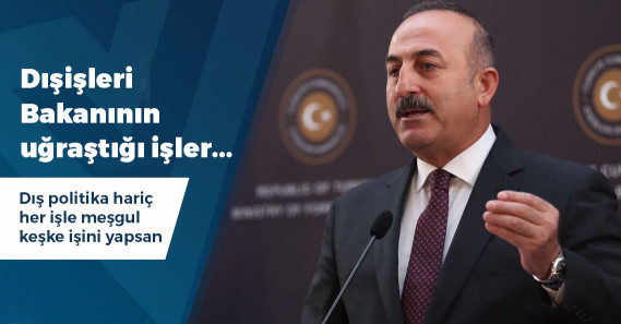 """Mevlüt Çavuşoğlu: """"Seçilirlerse dağlara para gönderecekler"""""""