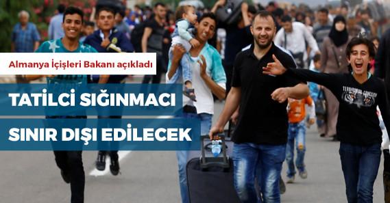Almanya'da tatil için ülkelerine dönebilen Suriyeliler sınır dışı edilecek