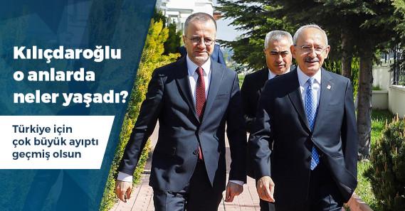 """Kılıçdaroğlu: """"Eve emniyet müdürü geldi, kamuflajla çıkarmak istediler kabul etmedim"""""""