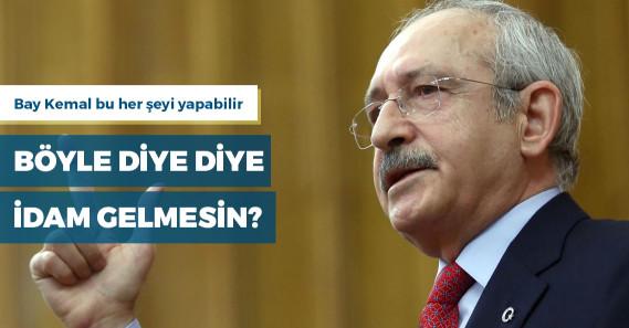 """Kılıçdaroğlu: """"İdamım için kanun getirmezseniz namertsiniz, oy vermezsem namerdim"""""""