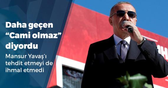 """Erdoğan: """"Adını Ayasaofya Müzesi değil, Ayasofya Camisi yaparız, ücretsiz ziyarete açılır"""""""