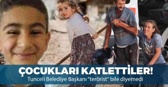 PKK'lı teröristler Tunceli'de iki çocuğu katletti