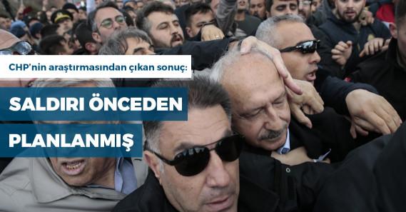 CHP'nin araştırma grubu: Saldırı organize, güzergaha yaş yığılmış, belediye çalışanları var