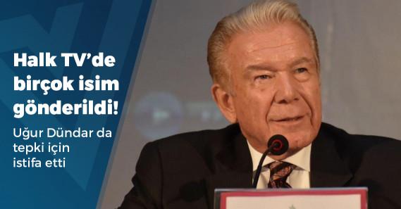 Halk TV'de Uğur Dündar'dan tepki istifası!