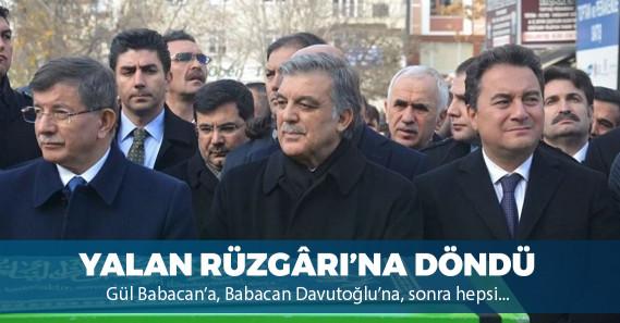 """""""Ali Babacan artık Abdullah Gül ile birlikte hareket etmiyor"""""""