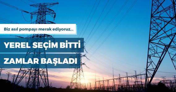 Elektrik toptan satışı yüzde 37 zamlandı