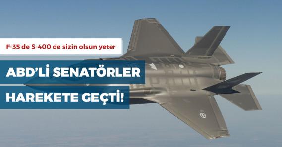 ABD'li senatörlerden F-35'lerin Türkiye'ye teslimini engellemek için yasa tasarısı