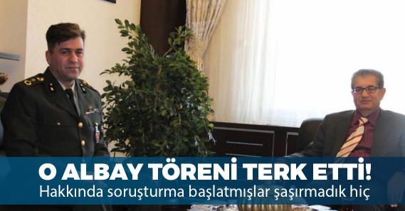 Albay İrevül Çanakkale anmasında Atatürk'ün adı anılmayınca töreni terk etti