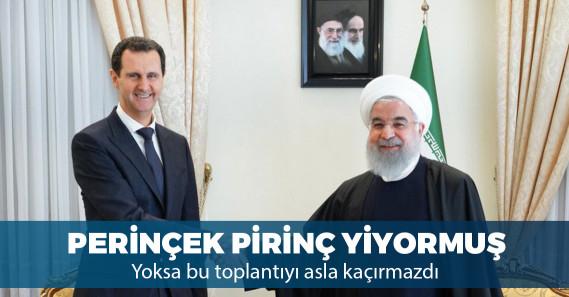 Esad İran'ı ziyaret etti