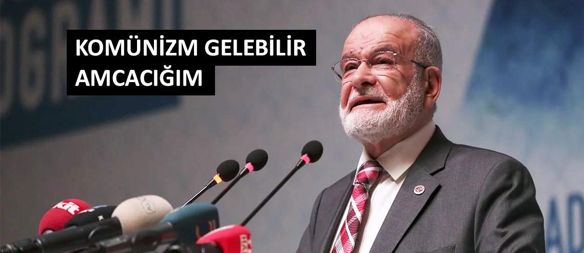 """Karamollaoğlu: """"İktidar çareyi bakkal dükkanı açmakta buluyor"""""""