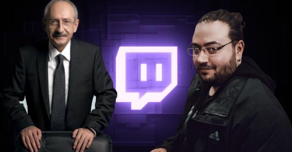 CHP Genel Başkanı Kılıçdaroğlu, Twitch'te Jahrein'in konuğu oldu