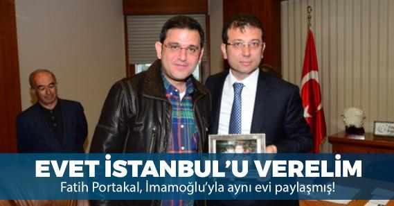 Fatih Portakal ve Ekrem İmamoğlu üniversiteden ev arkadaşı çıktı