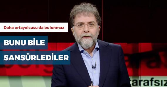 Hürriyet'ten Ahmet Hakan'a sansür