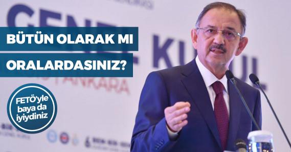 """AKP'li Özhaseki: """"Kafamız ne Pensilvanya'da ne de Kandil'de"""""""