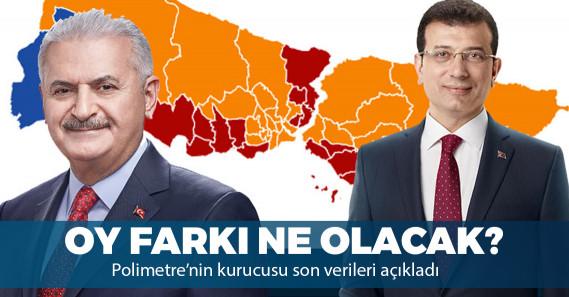 Polimetre, 23 Haziran'da oluşabilecek oy farkını açıkladı