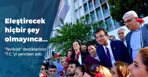 """Sabah gazetesi: """"İmamoğlu, 1 Mayıs marşı çaldırarak milleti ötekileştirdi"""""""