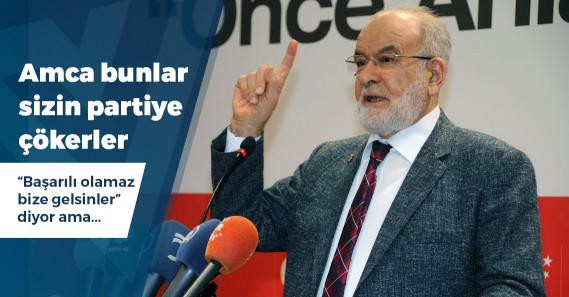 """Karamollaoğlu'ndan """"yeni parti"""" açıklaması"""