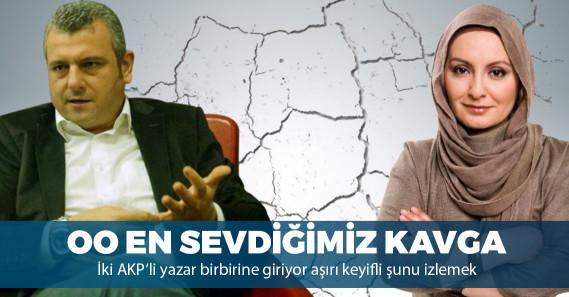 AKP medyasında yine kavga çıktı