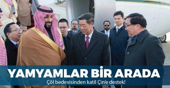 Suudi Arabistan'dan Çin'e Uygur toplama kampı desteği