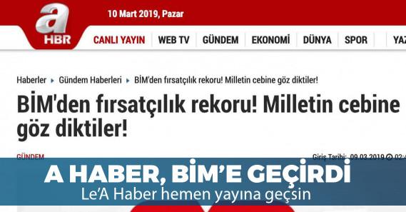 AKP medyasından iktidarın marketine sert suçlamalar!