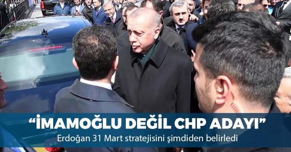 """""""Erdoğan, Ekrem İmamoğlu'na 'CHP adayı' diye seslenin talimatı verdi"""""""