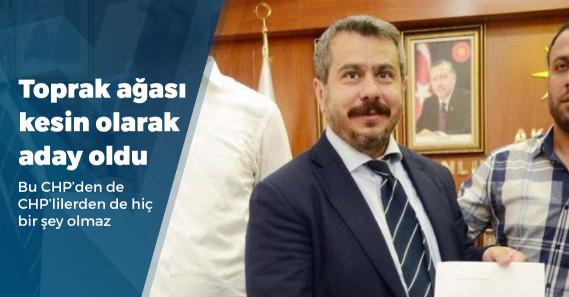 CHP'de Mehmet Fatih Bucak'ın adaylığı kesinleşti