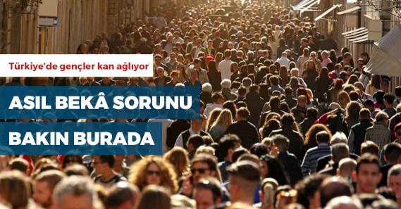 """""""Türkiye'de 15-19 yaş aralığındaki 1 milyon 57 bin genç ne eğitim görüyor ne de herhangi bir işte çalışıyor"""""""