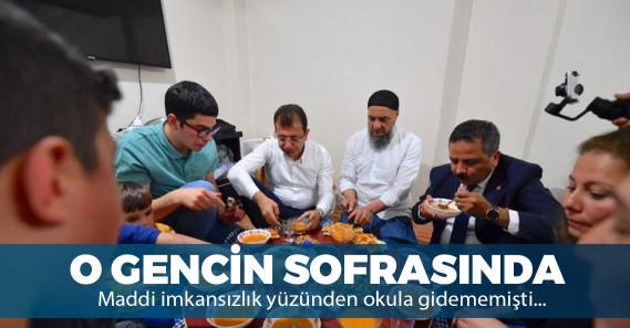 Ekrem İmamoğlu'ndan dikkat çeken iftar ziyareti