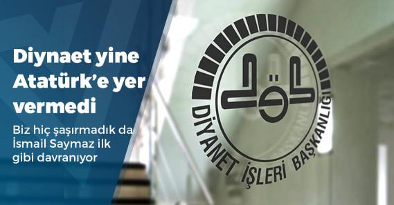 Diyanet, Çanakkale hutbesinde Atatürk'e yer vermedi