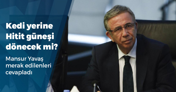 """Mansur Yavaş:  """"Başkanlığım boyunca, siyasi parti liderlerlerine cevap vermeme anlayışıyla hareket edeceğim"""""""