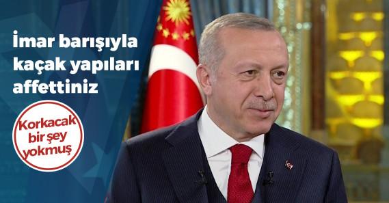 """Erdoğan: """"Büyük depremde faturası ne olur belli değil; endişeliyim, korkuyorum"""""""