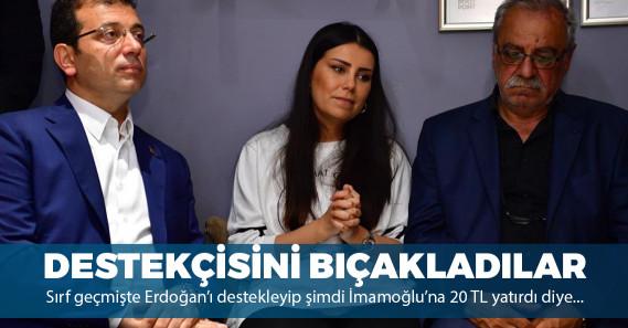 Ekrem İmamoğlu'nu destekleyen Erdoğan'ın manevi kızına bıçaklı saldırı