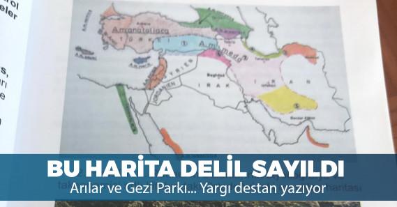 Gezi Parkı iddianamesinde delil olarak yer alan o harita, arıcılık haritası çıktı!