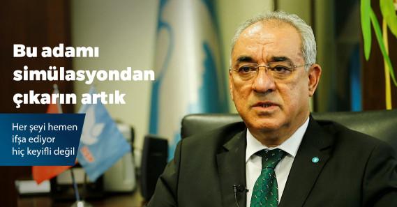 """DSP lideri Aksakal: """"Neyinizi bölüyorum, hepiniz ülkücüsünüz zaten"""""""