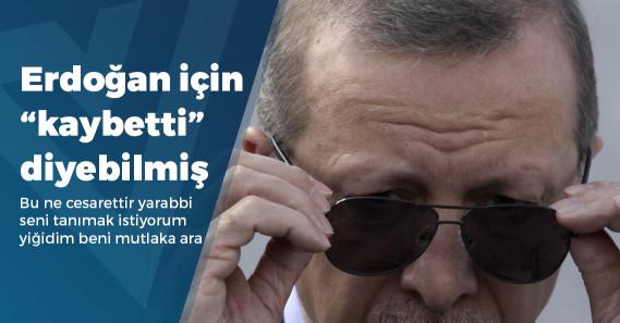 """""""Bir bakanın 'maalesef Erdoğan kaybetti' dediği kulaktan kulağa yayılıyor"""""""