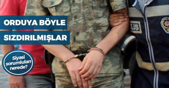 FETÖ soruşturmasında 166 muvazzaf asker tutuklandı