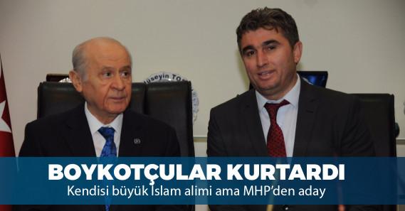 "MHP'li başkan adayı: ""Millet ittifakı'na oy vermek haramdır"""