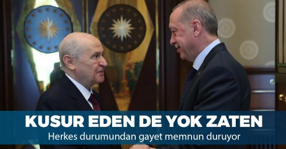 """Bahçeli: """"Erdoğan'a saygıda kusur etmeyin"""""""